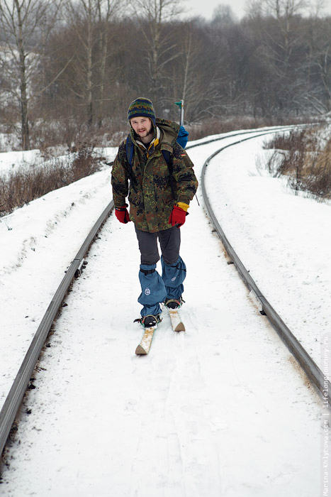 На лыжах без палок