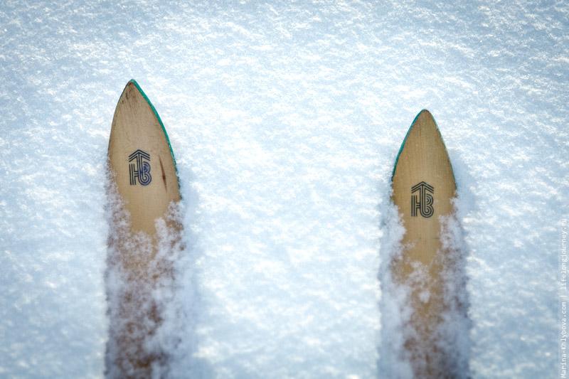 Те самые винтажные лыжи