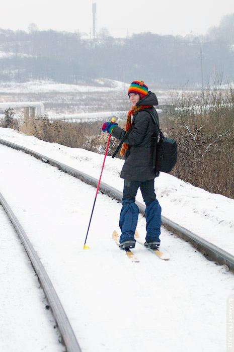 Я на лыжах