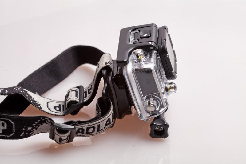 GoPro крепление камеры на голову