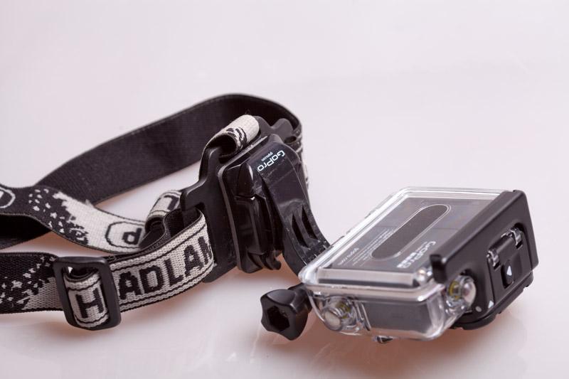 GoPro - крепление на голову готво