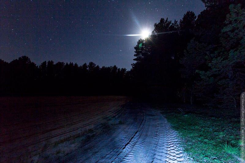 Ночь в Белоруссии