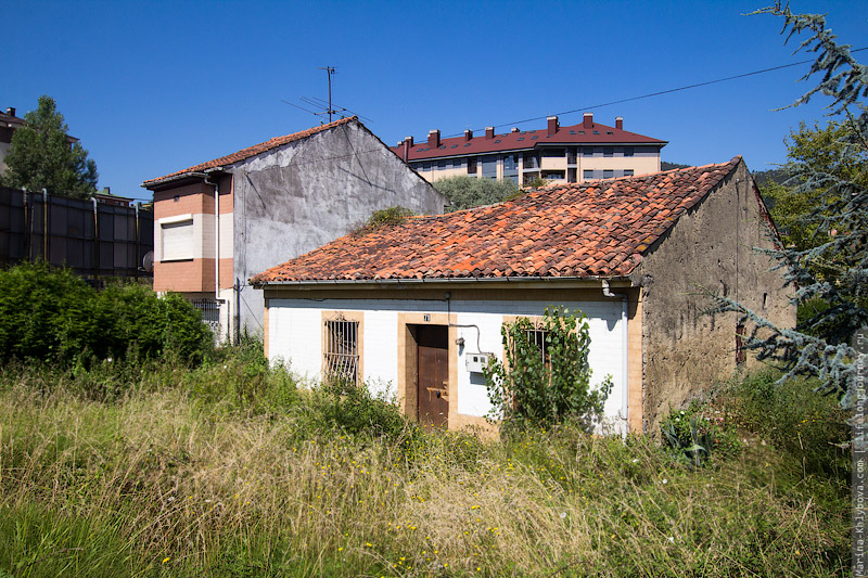 Старые домики в Овьедо