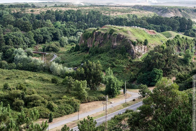 Вид с тропы после Авилеса
