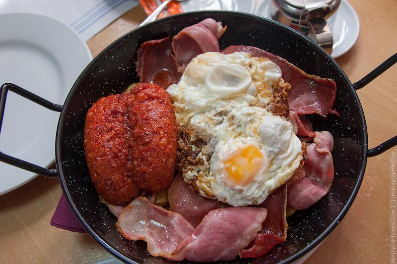 Наш испанский обед