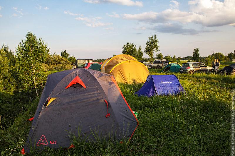 Геокешерские палатки