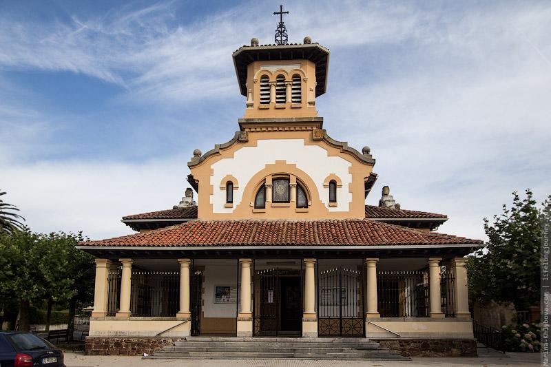 Церковь в Салинасе