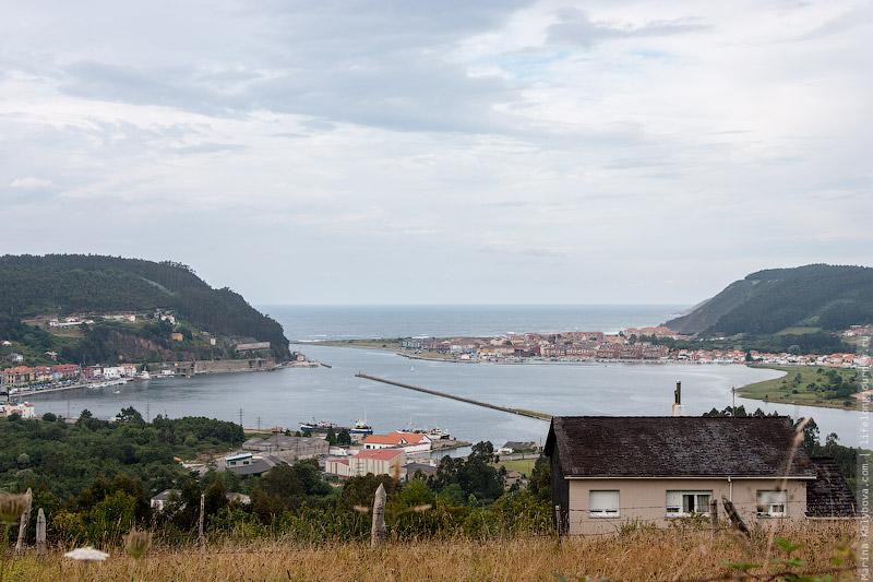 Вид на море с Пути Сантьяго