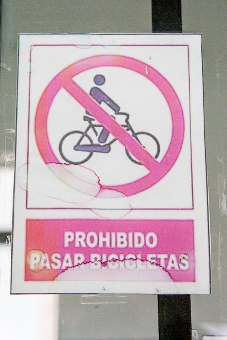 Велосипедистам в этом альберго ночевать нельзя