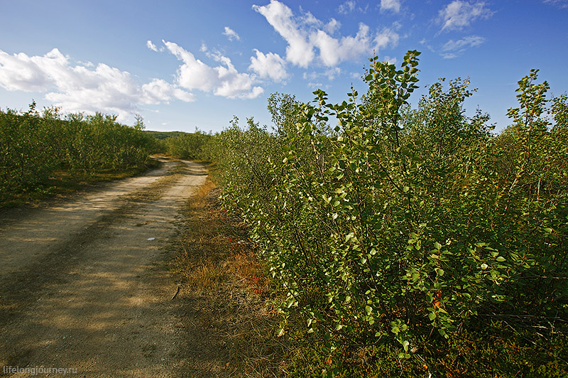 Дорога на Муста-Тунтури