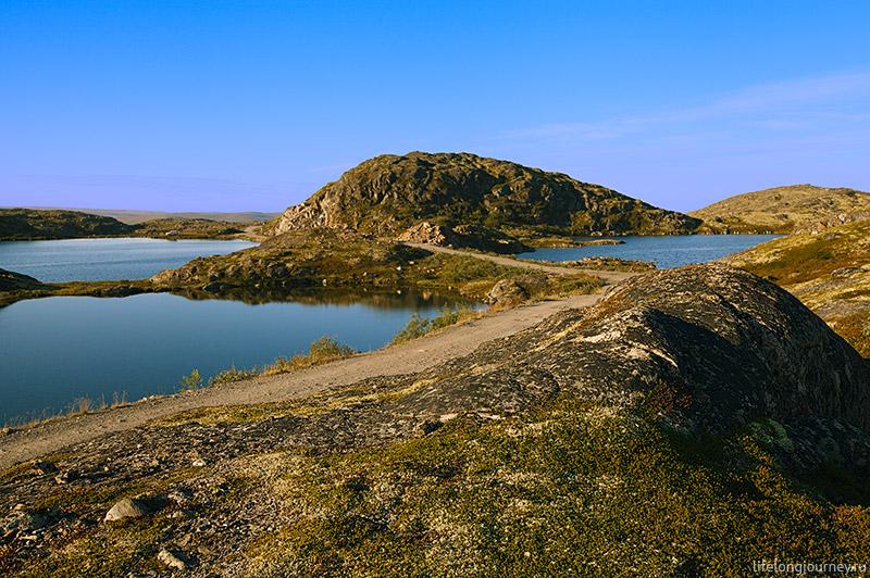 Северные озера. Полуостров Средний.
