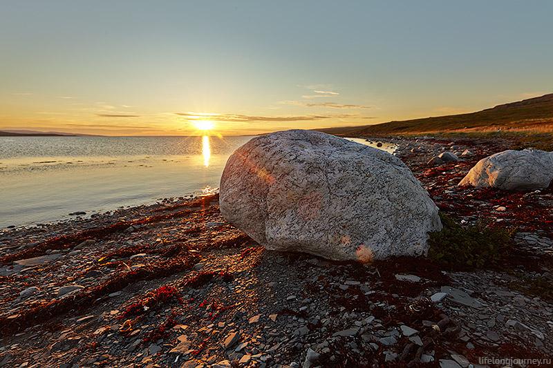 Закат над Барецевым морем