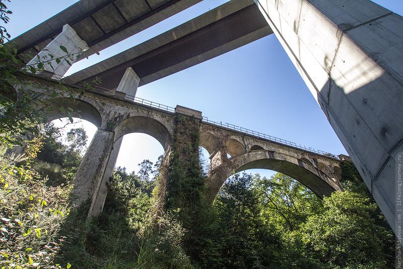 Два моста: старый и новый