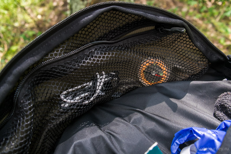 Bask Anaconda 120 - карман внутри клапана
