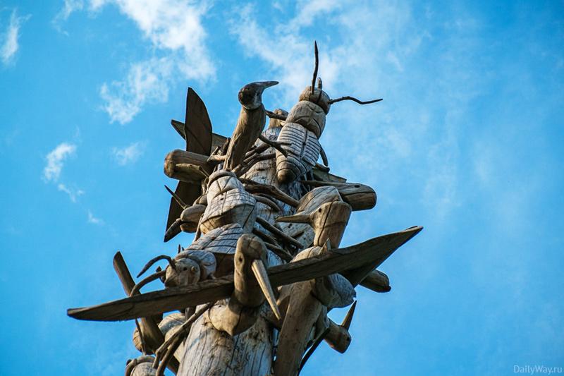 Борьба дятлов с долгоносиками