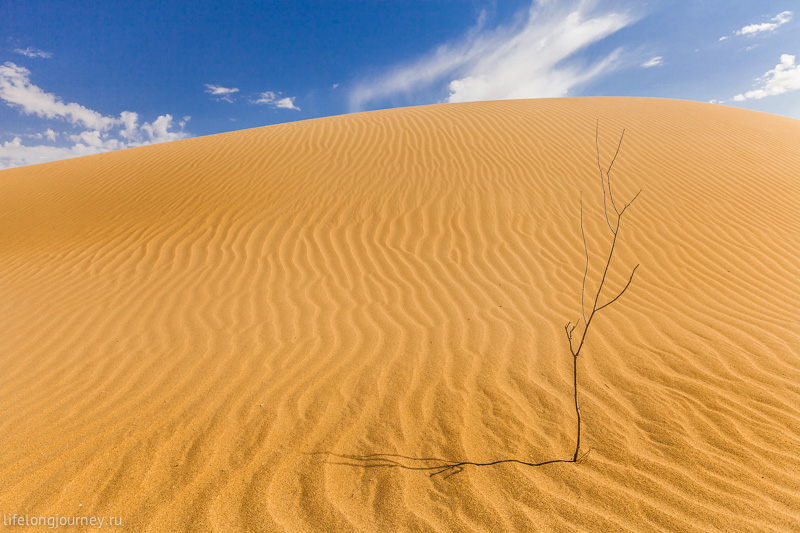 Пески Туйесу возле Сенека