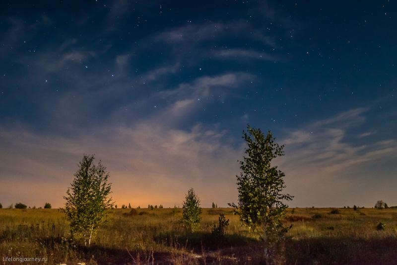 Ночь возле Щучьего городка