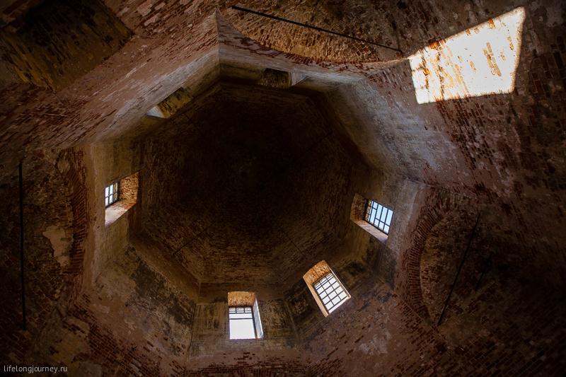 Купол храма Рождества Пресвятой Богородицы в Курилово