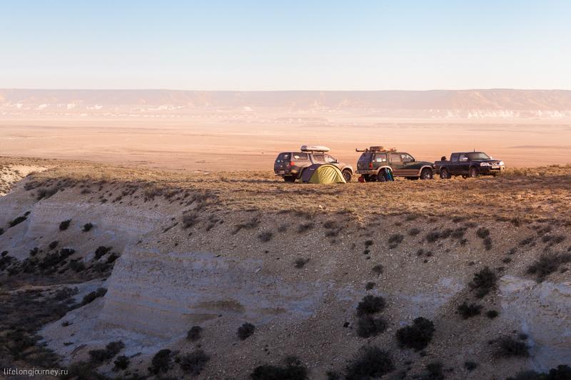 Лагерь возле Туз-Баира