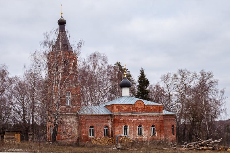 Христорождественская церковь в Каменищах