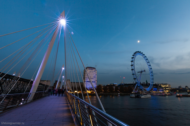 Golden Bridge и London Eye
