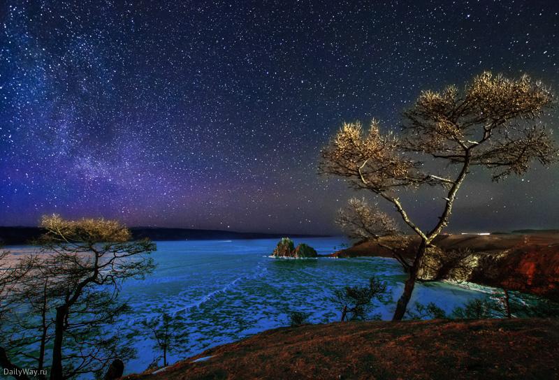 Ночь над Байкалом