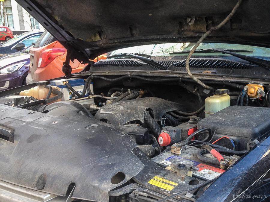 Два аккумулятора в Субурбане